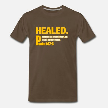 Healing healed - Men's Premium T-Shirt