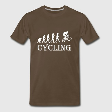 Cycle Evolution Cycling - Men's Premium T-Shirt