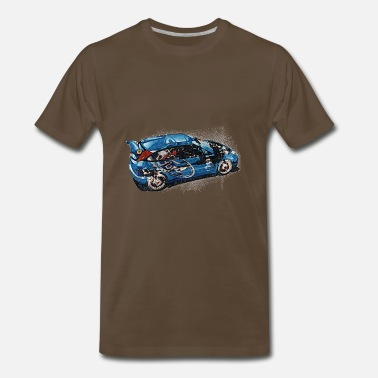 Vintage Ford ford rally - Men  39 s Premium T-Shirt 44a6dcd17