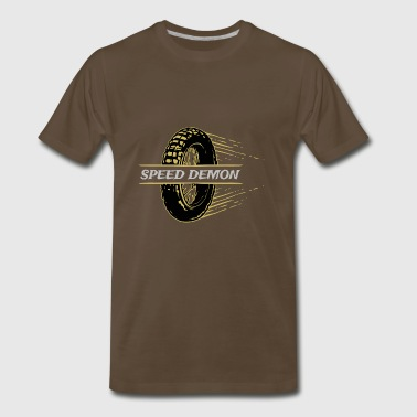 speed demon vintage - Men's Premium T-Shirt