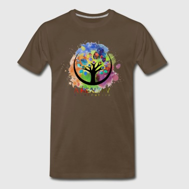 A Healthy Alternative Water color - Men's Premium T-Shirt