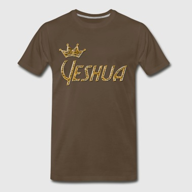 Cool Christian Hebrew Yeshua - Men's Premium T-Shirt