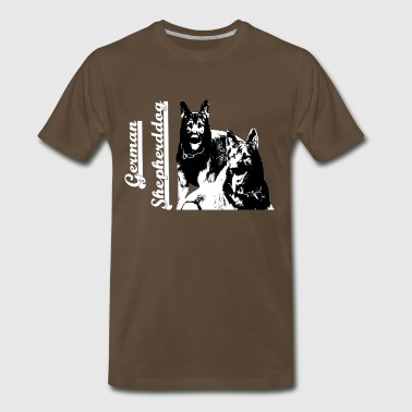 Dog Sports German Shepherd, dog,Dog sports,dog head, Dog face - Men's Premium T-Shirt