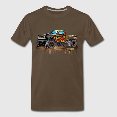 Mud Truck Junk Yard Diva - Men's Premium T-Shirt