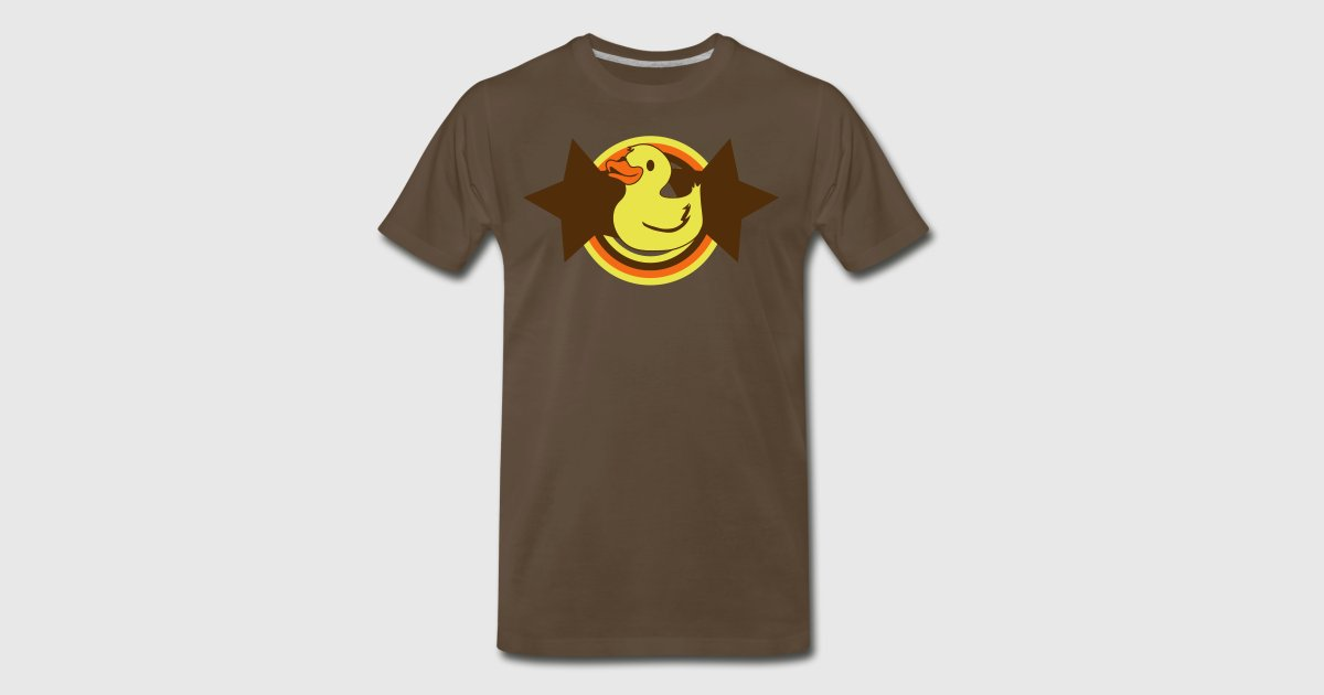 rubber ducky on a star and rainbow by JazzyDesignz | Spreadshirt