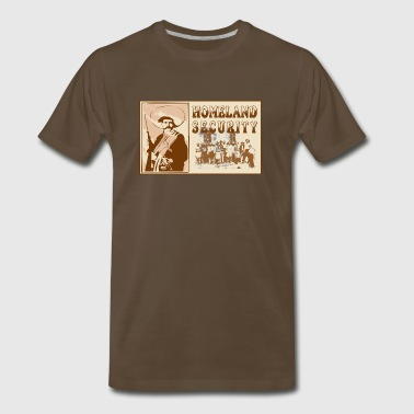 Mexican Homeland Security - Men's Premium T-Shirt