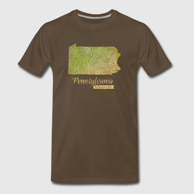 Pennsylvania - Men's Premium T-Shirt