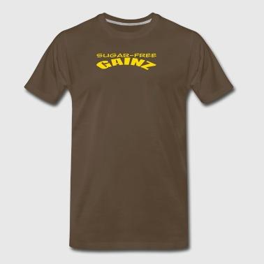 Shop sugar free attitude gifts online spreadshirt sugar free gainz men39s premium negle Image collections
