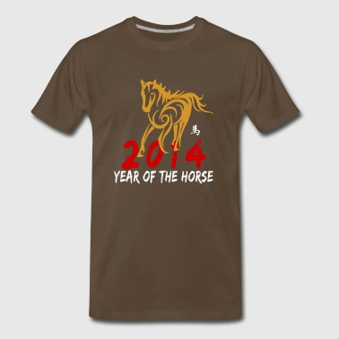 Year of The Horse 2014 - Men's Premium T-Shirt