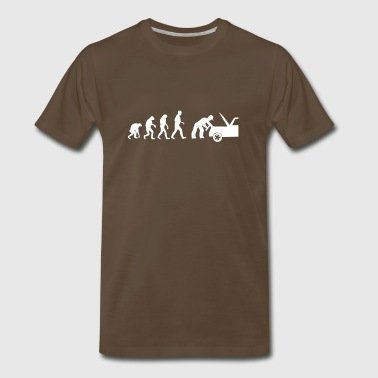 mechanic evolution - Men's Premium T-Shirt
