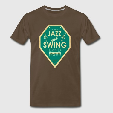 Jazz and Swing Band - Men's Premium T-Shirt
