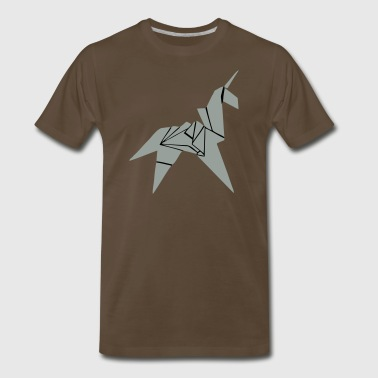 Blade Runner unicorn - Men's Premium T-Shirt