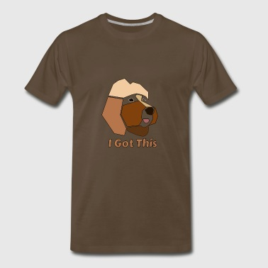 I Got This Brown Dog - Men's Premium T-Shirt