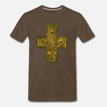 a9258eaf6 Celtic Cross Celtic Cross - Men's Premium T-Shirt