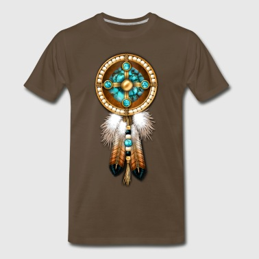 Native American Mandala - Men's Premium T-Shirt