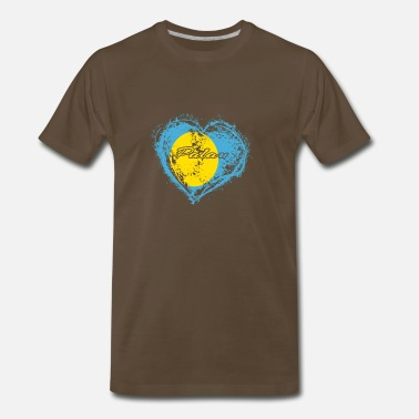 Palau HOME ROOTS COUNTRY GIFT LOVE Palau - Men's Premium T-Shirt