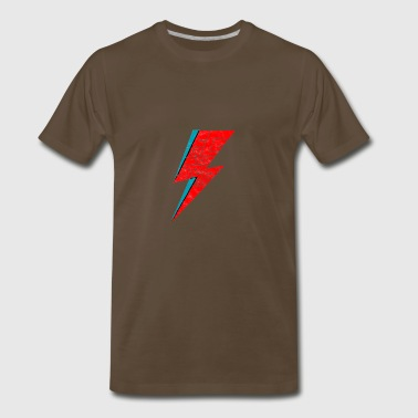 bowie face the strange - Men's Premium T-Shirt