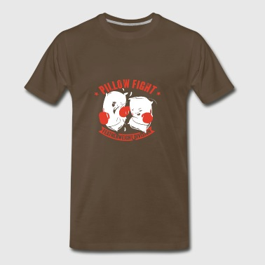 Pillow Fight Featherweight Division - Men's Premium T-Shirt
