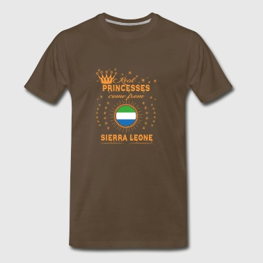 love princesses come from SIERRA LEONE - Men's Premium T-Shirt