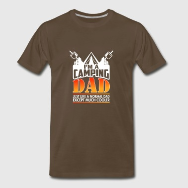 Cool Camping Dad T-Shirt. Gift Ideas - Men's Premium T-Shirt