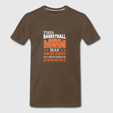Basketball Mom Best Gift Ideas For Basketball Mom. - Men's Premium T-Shirt