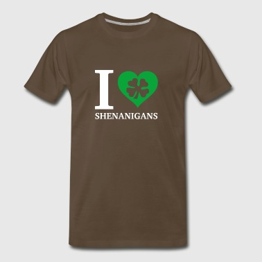 I Love Shenanigans - Men's Premium T-Shirt