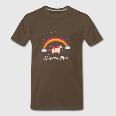 Unicorn mom Mother Of birthday Girl - Men's Premium T-Shirt