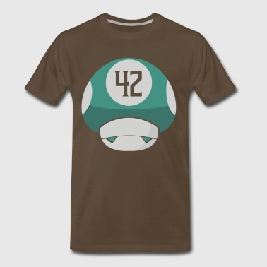 Small mushrooms - Men's Premium T-Shirt
