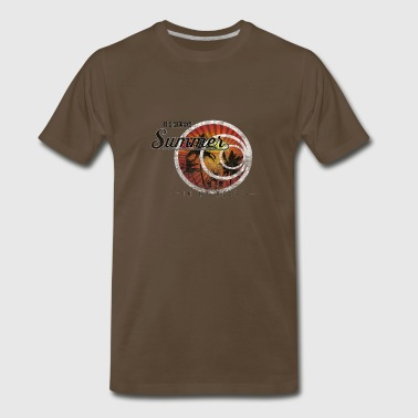 Its always Summer in your heart - Men's Premium T-Shirt