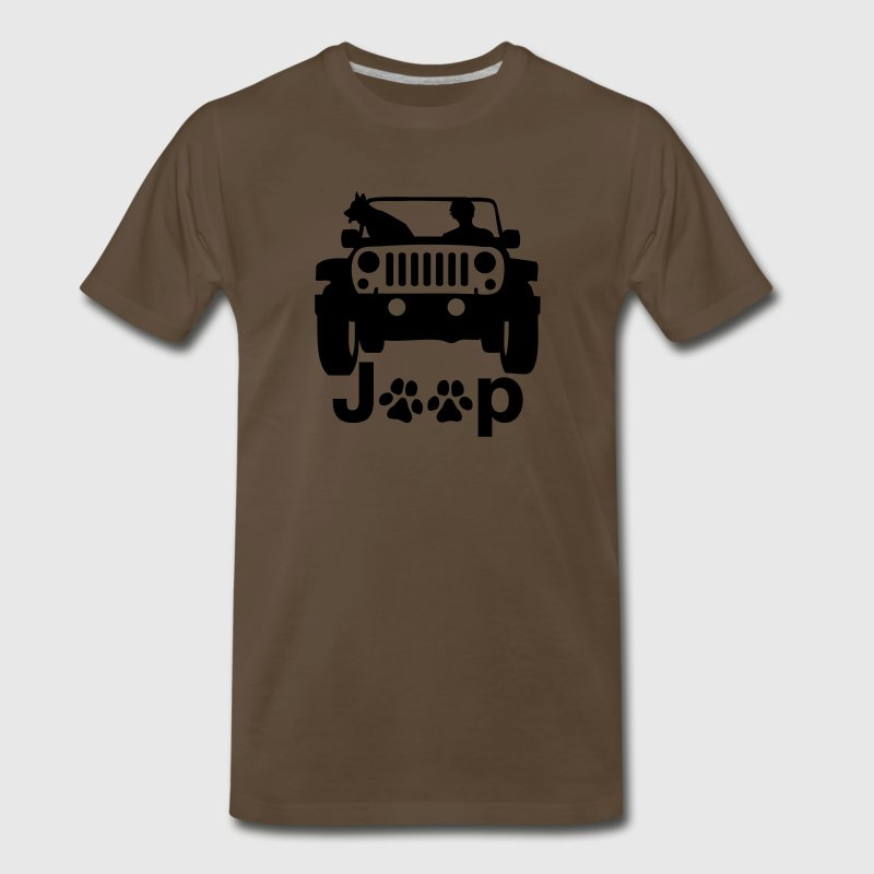 A0239 JEEP CANINE - Men's Premium T-Shirt