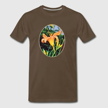 Day Lily Glow - Men's Premium T-Shirt