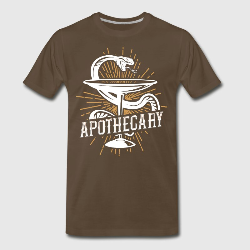Apothecary Pharmacist and Chemist Design - Men's Premium T-Shirt