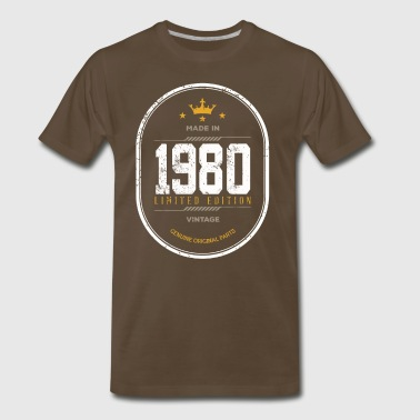 Made In 1980 Limited Edition Vintage - Men's Premium T-Shirt
