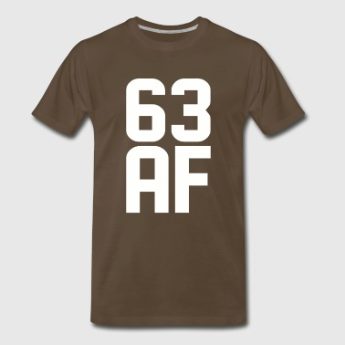 63 AF Years Old - Men's Premium T-Shirt