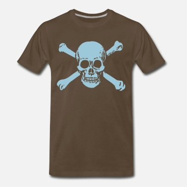 Old Skull OLD SKULL - Men's Premium T-Shirt