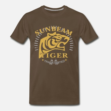 Classic Sunbeam Sunbeam Tiger Track Tested - Men's Premium T-Shirt