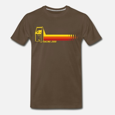 70s Racing2000 - Men's Premium T-Shirt