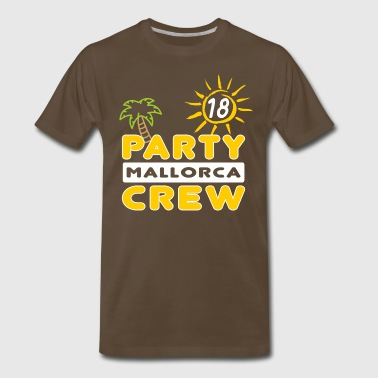 Party Crew, Mallorca, group holidays, together - Men's Premium T-Shirt