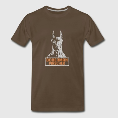 Doberman Pinscher - Men's Premium T-Shirt