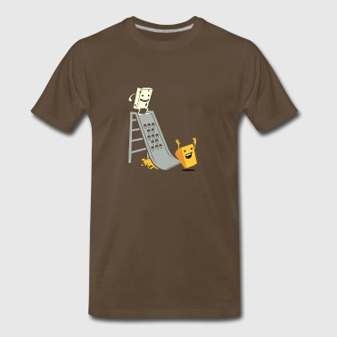 The First Grate - Men's Premium T-Shirt