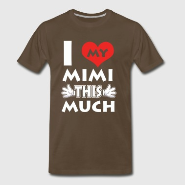 Love my Mimi tee - Men's Premium T-Shirt