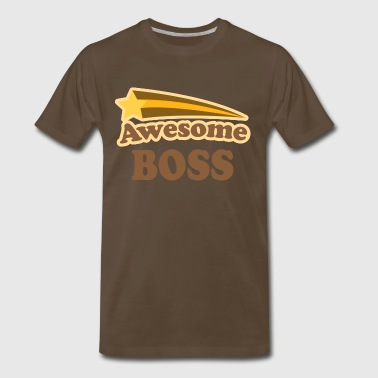 Awesome Boss vintage - Men's Premium T-Shirt
