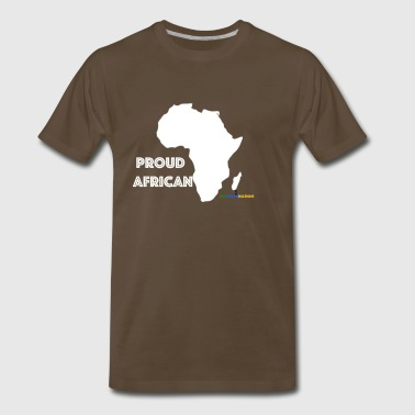 #RepYourNation: Proud African - Men's Premium T-Shirt