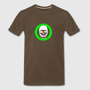 Misfits Fiend Club Green Punk Rock Indie - Men's Premium T-Shirt