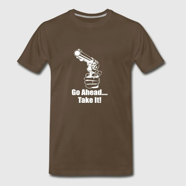 Go Ahead - Men's Premium T-Shirt
