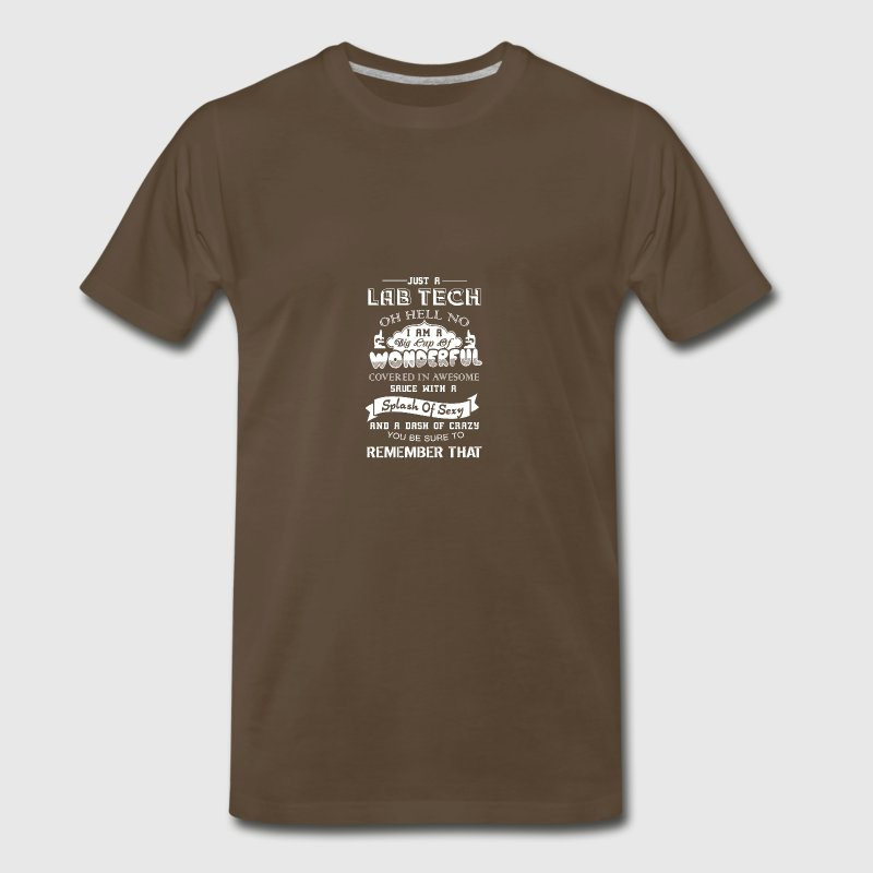 Wonderful Lab Tech Shirts - Men's Premium T-Shirt