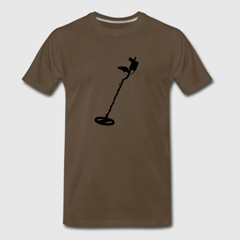metal detector - Men's Premium T-Shirt