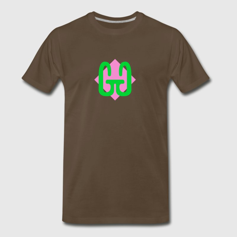 Double G Logo - Men's Premium T-Shirt