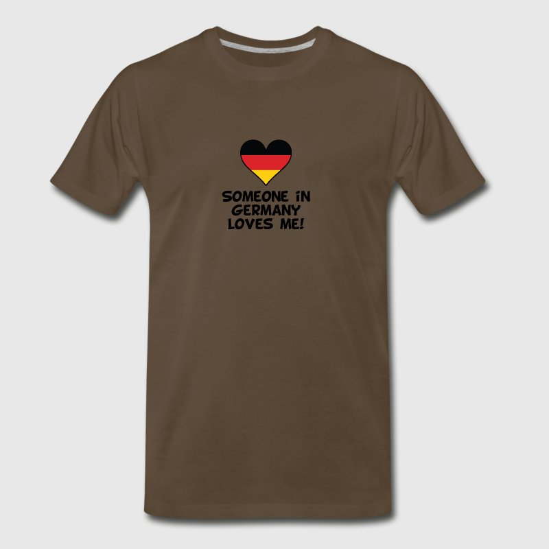Someone In Germany Loves Me - Men's Premium T-Shirt
