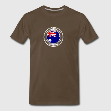 MADE IN MOUNT ISA - Men's Premium T-Shirt